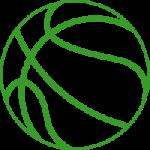 icono de pelota de basket