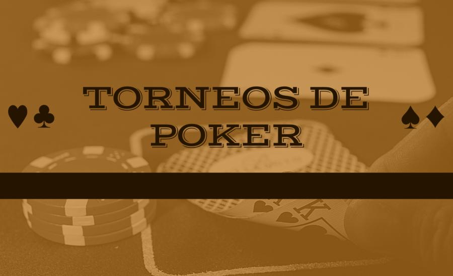 Los principales torneos de poker